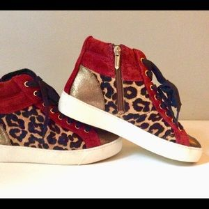 31325fac30fb Sam Edelman Shoes - Sam Edelman Britt Suede High-top Sneakers